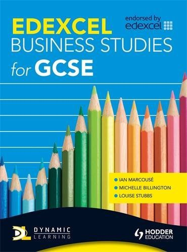 Edexcel Business Studies for GCSE