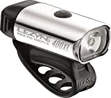 Lezyne Hekto Drive Beleuchtung Fahrrad/Mountainbike USB Unisex Erwachsene, Polish/Hi Gloss