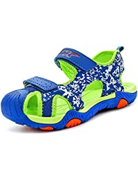 64e0dd59289 Sandales Enfant Chaussure de Sport Sandales Garcon en Plein air Summer  Beach Pool Sneakers