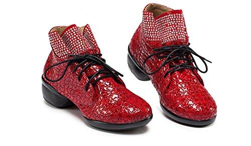Minitoo - Ballroom donna Red-4cm Heel