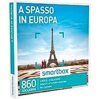 Smartbox - Cofanetto Regalo - A SPASSO IN EUROPA - 860 soggiorni in hotel 3* o 4*
