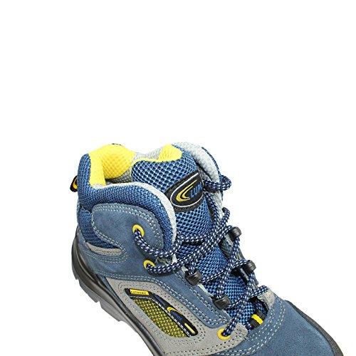 Lupos sL - 24–chaussures de sécurité berufsschuhe businessschuhe s1P sRC chaussures de trekking-bleu Bleu - Bleu