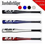 30''-36'' Baseballschläger Baseball Bat Softballschläger Schläger Alulegierung (Rot, 34 Zoll)