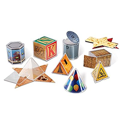 Learning Resources Real World Geometric Shapes by Learning Resources