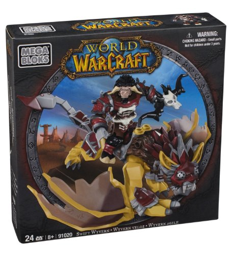 Mega Bloks 91020 - Warcraft Swift Wyvern Y Scarbuck