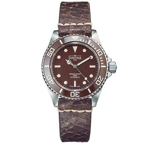 Davosa stile vintage ternos signore Diver Orologio Swiss Made Automatic mod.No. 16155595