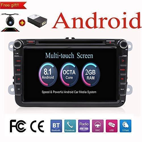 Android 8.1 20.3cm Octa Core doble DIN GPS estéreo Navegación Radio para...