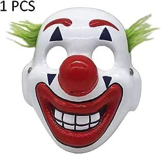 SH-Flying 2019 Maschera da Clown,Halloween Horror Latex Clown Maschera per Adulti Bambini Cosplay DC Movie Spaventoso Clown Costume da Festa di Halloween
