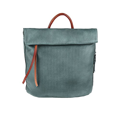OBC Only-Beautiful-Couture , Sac à main porté au dos pour femme gris gris ca.: 36x34x10 cm (BxHxT) bleu