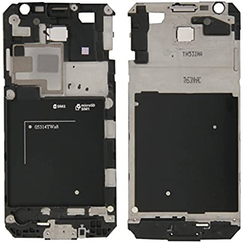 Piezas de repuesto de teléfonos móviles, iPartsBuy frontal de la carcasa del LCD de la placa del bisel del capítulo para Samsung Galaxy Gran Primer / G530