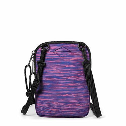 Eastpak Buddy Borsa a Tracolla, 0.5 Litri, Blu (Double Denim) Multicolore (Knit Pink)