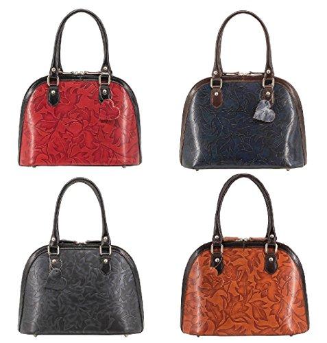 Amethyst Retail ,  Damen Tasche Navy / Brown