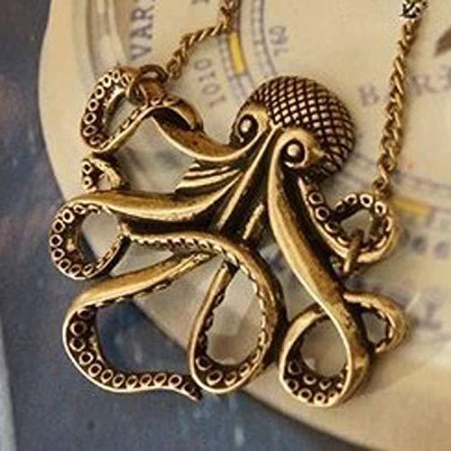 Großhandel Piraten Der Karibik Octopus Mann Retro Lange Kette Pents Frauen ()