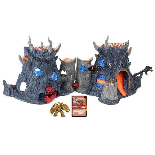 Gormiti Deluxe Fire Mountain Playset