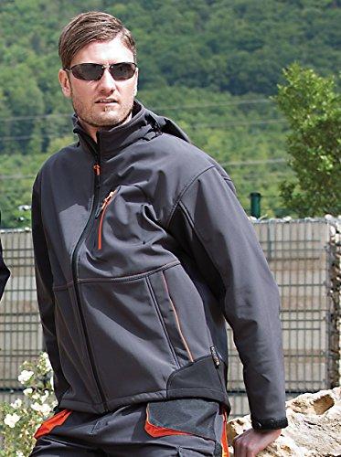Preisvergleich Produktbild Unimet Softshelljacke,  1 Stück,  grau,  UM759811