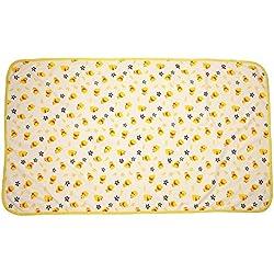 domybest impermeable reutilizable bebé paño de algodón urinario Pad Mat Cama para cochecito de bebé para cambio de pañales Mesa almohadillas Color Talla:115x65cm/45.3x25.6in