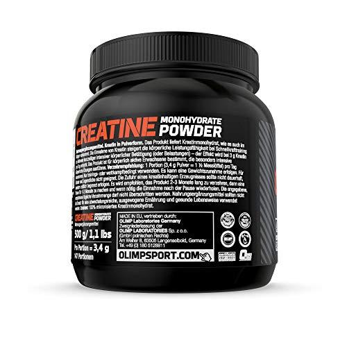 Olimp Creapure Monohydrat Powder, 1er Pack (1 x 500 g) - 3