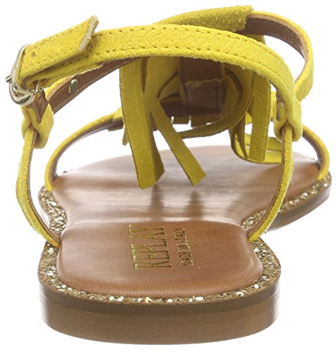 Replay Eylow, Sandales Bride cheville femme Jaune - Gelb (YELLOW 87)