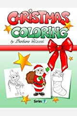 Christmas Coloring: Series 1 by Barbara Pelizzoli (2012-09-14) Taschenbuch