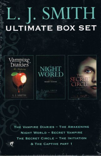 L J Smith: 3 book box set: Vampire Diaries - The Awakening, Night World - Sec... (Set Vampire Box Diaries)