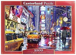 Castor País C de 103911-2Times Square, Puzzle de 1000Piezas