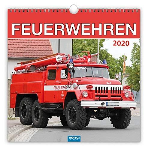 "Technikkalender ""Feuerwehren"" 2020: 30 x 30 cm"