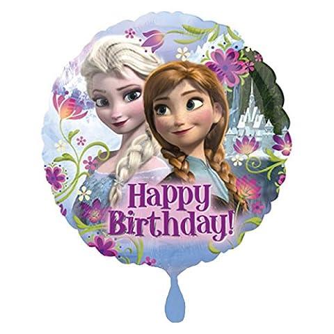 Amscan International la Reine des neiges Joyeux anniversaire