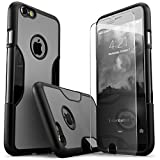 Best Sahara Case Iphone 6 Plus Tempered Glasses - iPhone 6 Plus Case, Gray Black SaharaCase® Protective Review