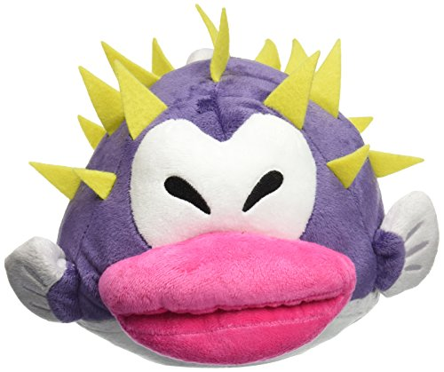 Super Mario - Porcupuffer Plush - Little Buddy - 18cm 7""