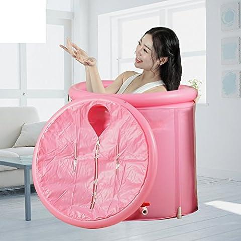 Canna vasca da adulti/ pieghevole doccia lavandino/ vasca da bagno gonfiabile/Bagno botti di bagno termale/Vasca-E