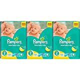 Pampers - Active New Baby 2 Windeln (3-6kg) Maxi Pack - 228 Stück