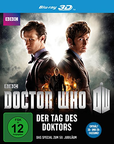 Doctor Who - Der Tag des Doktors  (inkl. 2D-Version) [3D Blu-ray] (Doctor Who Series 8)