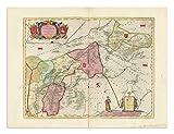 the Blaeu Prints | Emsland, Niedersachsen - Historischer