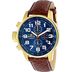 Invicta 3329 I-Force Reloj para Hombre acero inoxidable Cuarzo Esfera azul