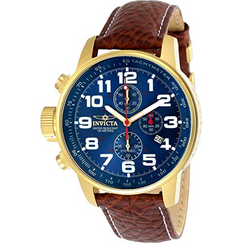 Invicta 3329 I-Force Herren Uhr Edelstahl Quarz blauen Zifferblat - Invicta Watch Bands Silikon