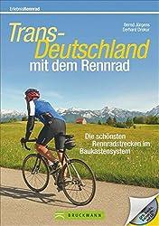 Trans-Deutschland mit dem Rennrad: Die schönsten Rennradstrecken im Baukastensystem (Rennradtouren)