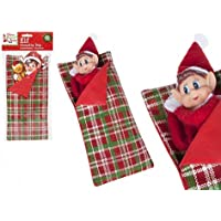 "PMS 4.7/8""W)x12""(L) PATTERNED ELF SLEEPING BAG W/PILLOW W/H-"