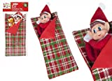 PMS 4.7/8 W x12(L) PATTERNED ELF SLEEPING BAG W/PILLOW W/H- from Hoolaroo