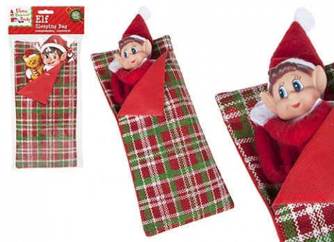 VIP Elf Sleeping Bag with Pillow - VIP Elf For Christmas Accessory