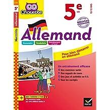 Allemand 5e : LV2 1re année (A1 vers A2) (Chouette Entraînement Collège) (French Edition)