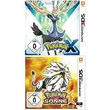 Pokémon Sonne +  Pokémon X [3DS]