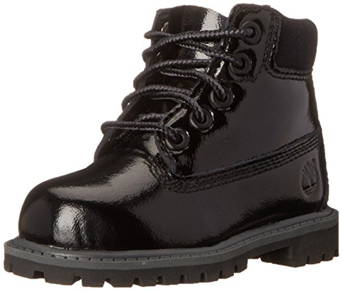 Timberland - Premium Boot - Mixte Junior Noir (Black)