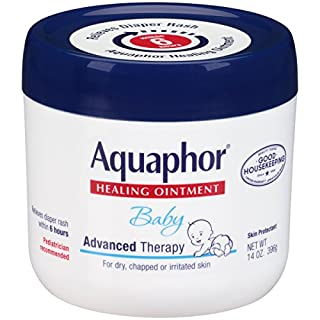 Aquaphor Baby Healing Ointment for Dry or Cracked Skin, Jar - 14 Oz