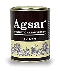 AGSAR Synthetic Clear Varnish(500 ml)