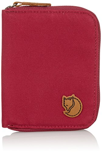 Fjällräven Zip Wallet Unisex Brieftasche, Plum, 12 x 10 x 1 cm