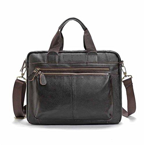 Männer Tasche Business Tote Aktentaschen Laptoptaschen für Männer Handtaschen Pu Leder Messenger Bag Dokumentenportal große Kapazität