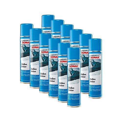 Sonax 12 x 03313000 ScheibenEnteiser Eisfrei Antifrost Spray 400ml