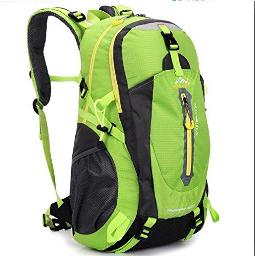 BUSL Im Freienberg Taschen wasserdicht Nylon Urlaubsreisen unisex Schultern Rucksack Green