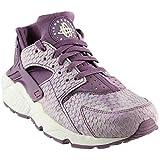 NIKE Damen Luft Huarache Run PRM, Damen Sneakers - Violett, 36.5