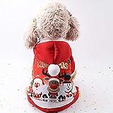 FUVOYA Vestiti Svegli del Cane Pigiama di Natale